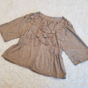Knitted & Knotted Flower Thicket Cardigan